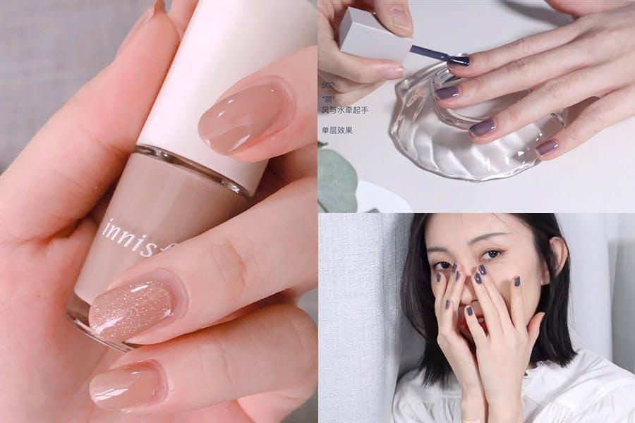 指甲彩繪diy 指甲油擦法技巧