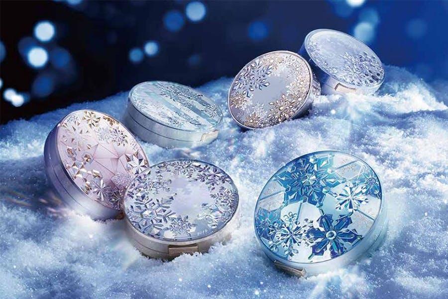 心機彩妝香氛蜜粉餅Snow Beauty雪花香氛魔法盒