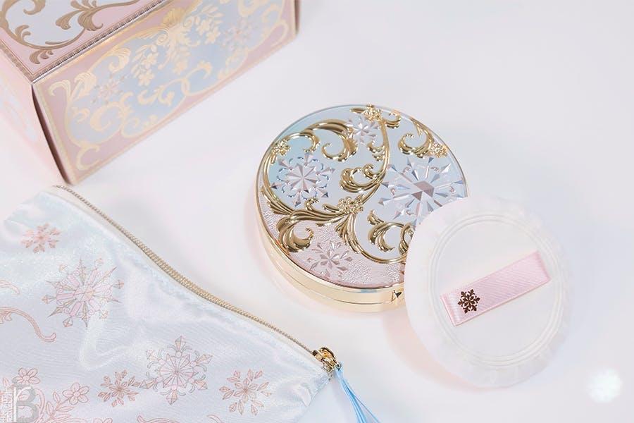 心機彩妝香氛蜜粉餅 2021Snow Beauty雪花香氛魔法盒-巴黎初雪
