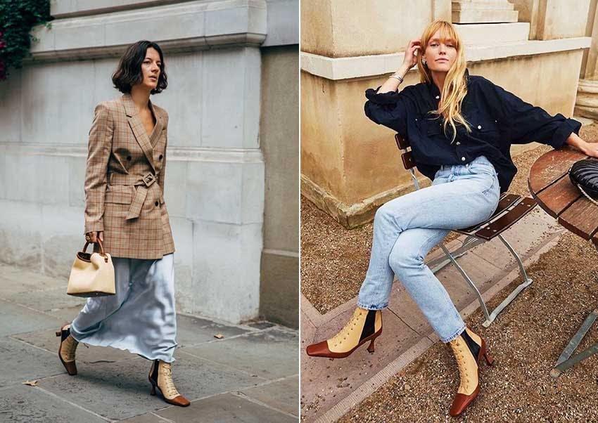 秋冬流行 鞋款 靴子 繫帶靴 尖頭繫帶靴