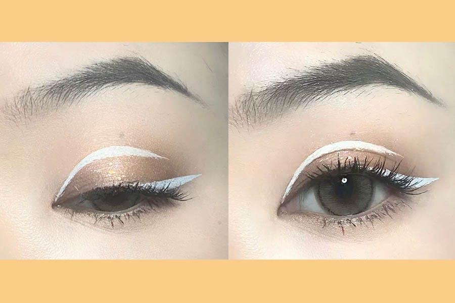白色眼線|美周報