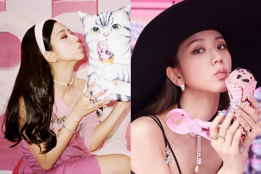 Jisoo 人間DIOR 〈Ice Cream〉MV造型 珍珠元素 串珠單品|美周報