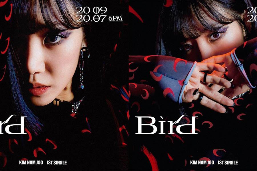 Apink金南珠solo《BIRD》歐美「紫羅蘭眼影」blingbling變身超A視覺妝容|妝容教學