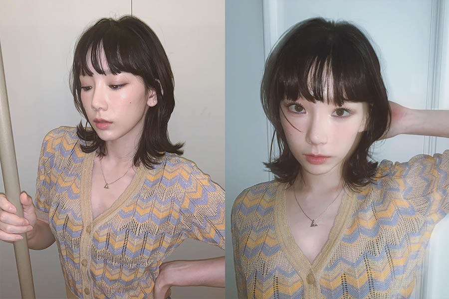 髮型推薦 短髮造型 太妍 外彎短髮|美周報
