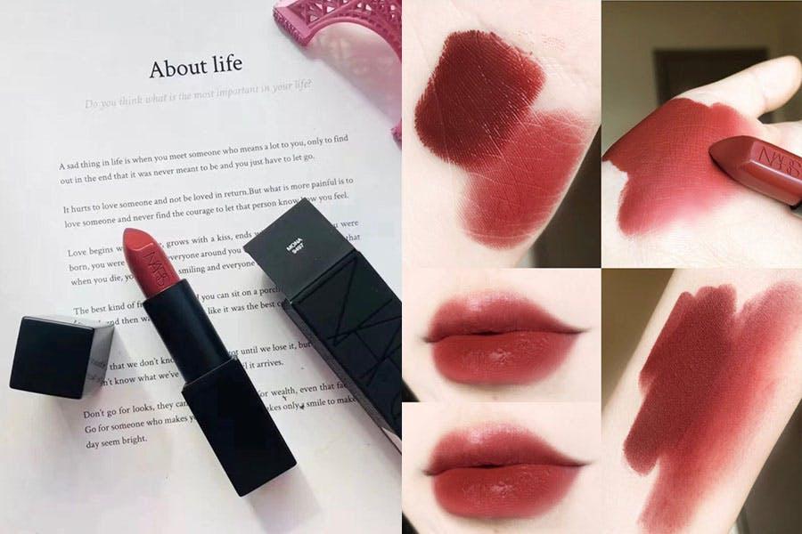 唇膏推薦 磚紅色唇膏 NARS 惹火唇膏 #MONA 美周報