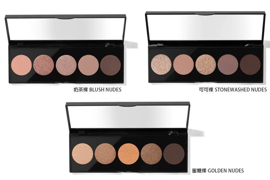 20新品 眼影盤 Bobbi brown 原生裸色5色眼影盤 美周報