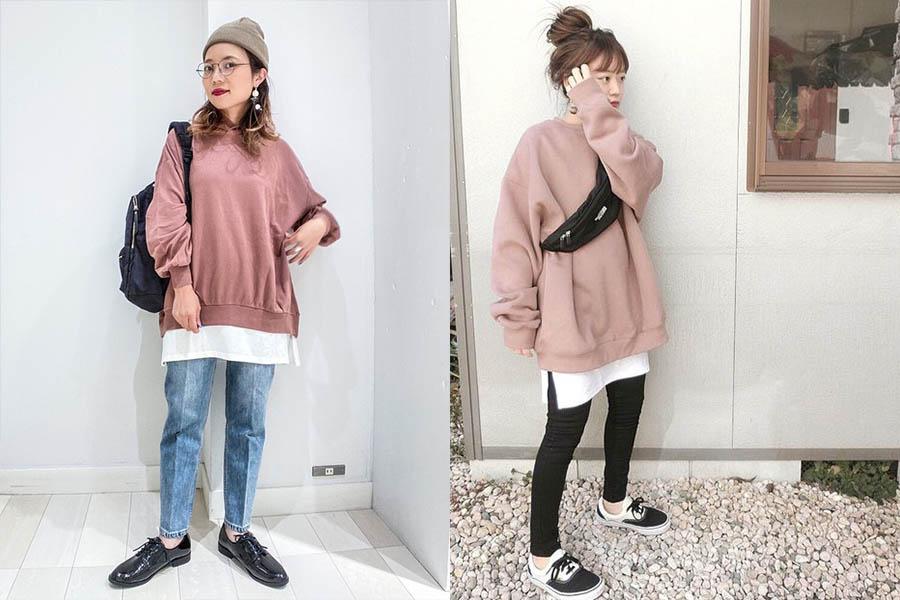 小個子女孩穿出層次感!3種疊穿技巧,Get日妞萬能秋冬穿搭法~|穿搭推薦