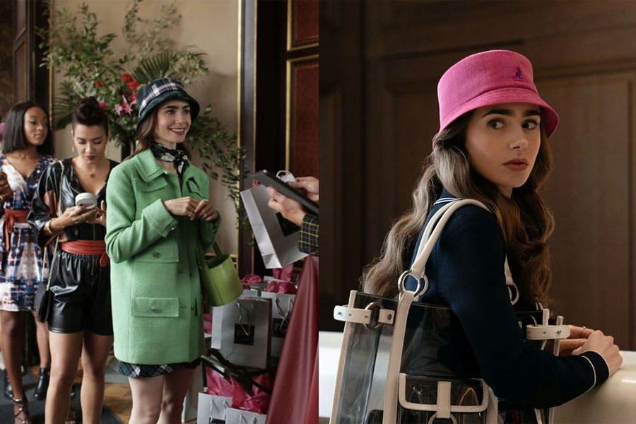 Netflix劇集 艾蜜莉在巴黎 Emily in paris 莉莉柯林斯 Lily Collins 帽款穿搭 漁夫帽|美周報