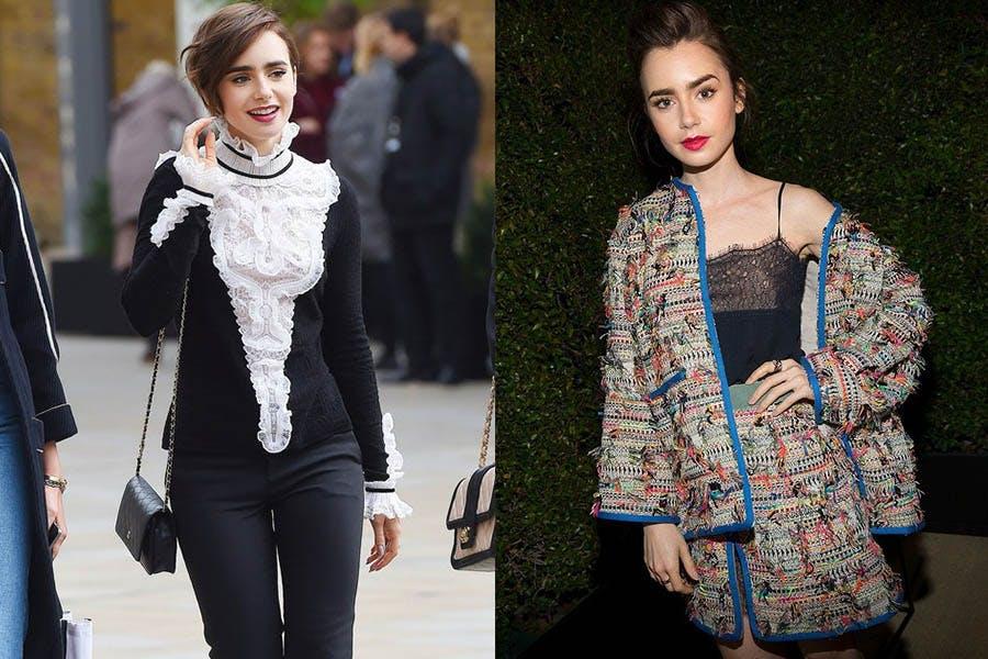 時尚 艾蜜莉在巴黎 莉莉柯林斯 行走的香奈兒 女星穿搭 穿搭推薦|美周報