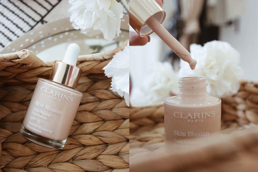 養膚型粉底液 粉底液推薦 保濕粉底液 CLARINS克蘭詩 蘋果光天生美肌粉底液 |美周報