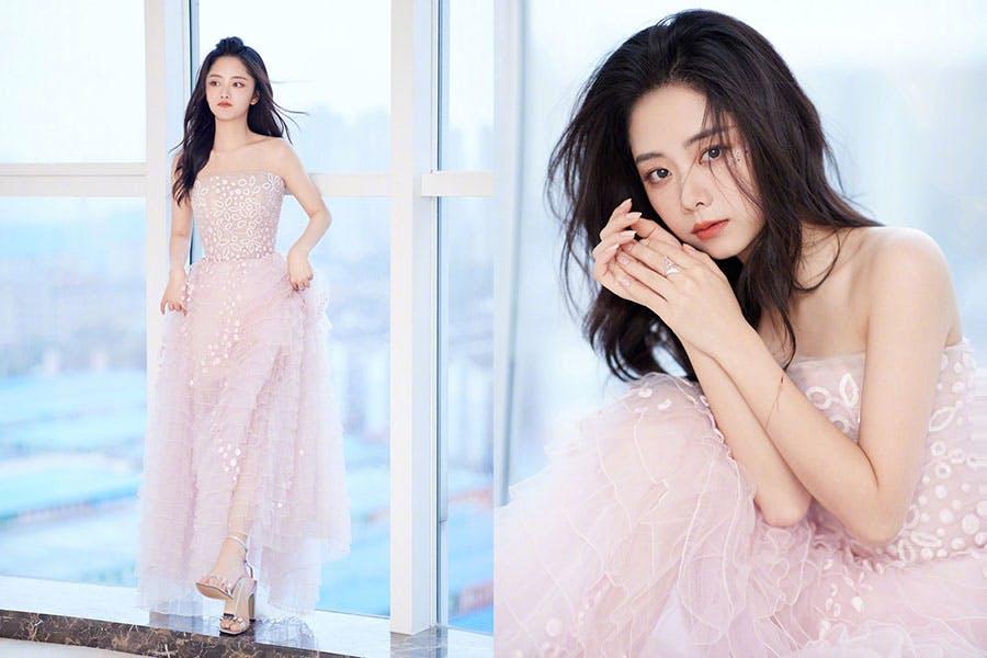 2020金鷹電視節 金鷹獎 女星造型 譚松韻|美周報