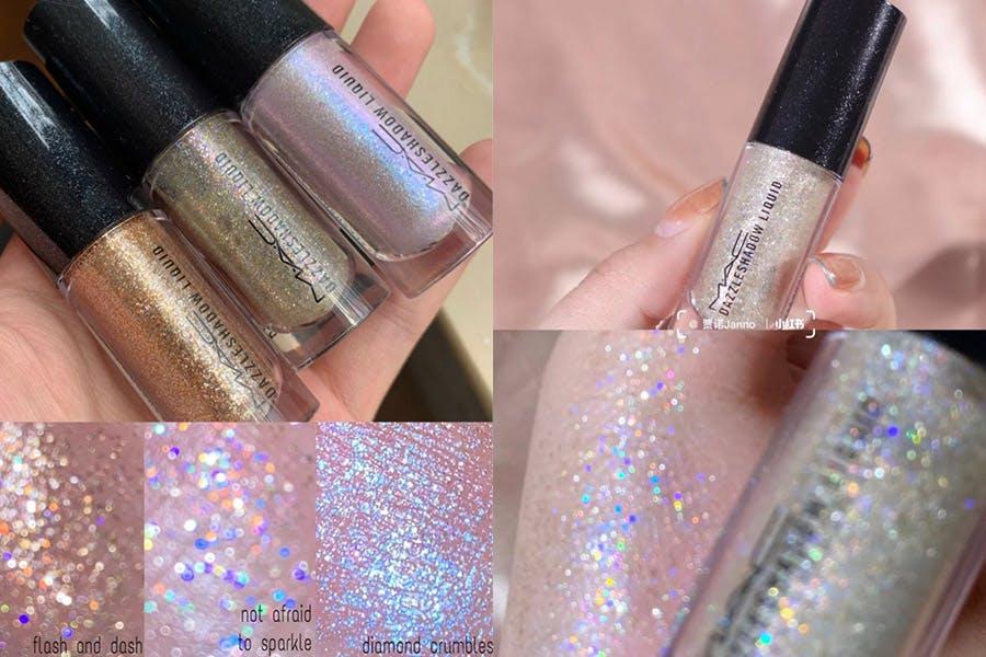 MAC全球代言人LISA首推形象照的同款美妝產品 眼影 MAC 液態星光眼影|美周報