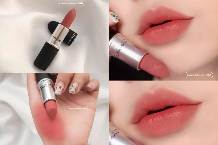 MAC全球代言人LISA首推形象照的同款美妝產品 唇妝 MAC絲柔粉霧唇膏#Mull it Over|美周報
