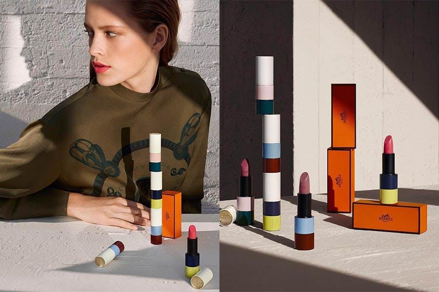 20新品-唇膏推薦 Hermès愛馬仕 限量3款玫瑰色唇膏|美周報
