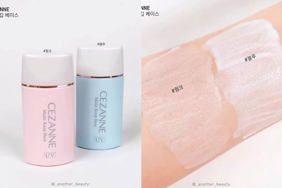 秋冬換季保濕妝前乳推薦 Cezanne 長效控油妝前隔離乳 |美周報
