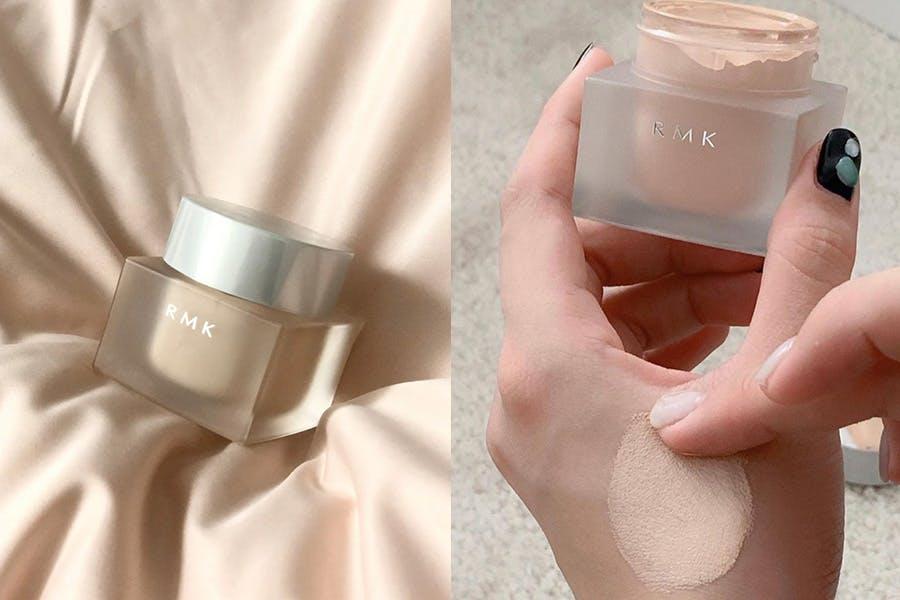 底妝產品 秋冬保養型底妝 粉霜 粉底霜推薦 RMK 水凝美肌粉霜|美周報
