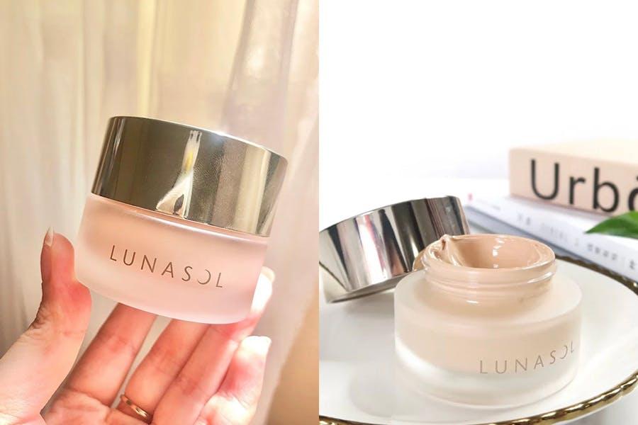 底妝產品 秋冬保養型底妝 粉霜 粉底霜推薦 Lunasol 水潤光粉霜|美周報