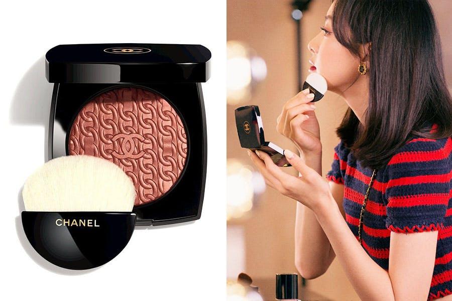 CHANEL香奈兒 2020聖誕彩妝經典鏈帶頰彩盤|美周報