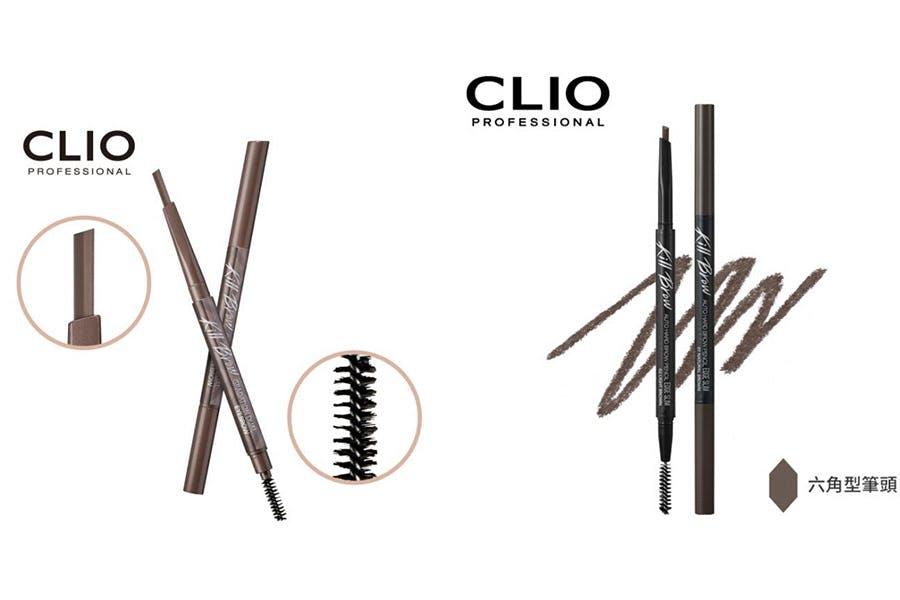 眉筆推薦 CLIO 不斷電雙色斜角眉筆|美周報