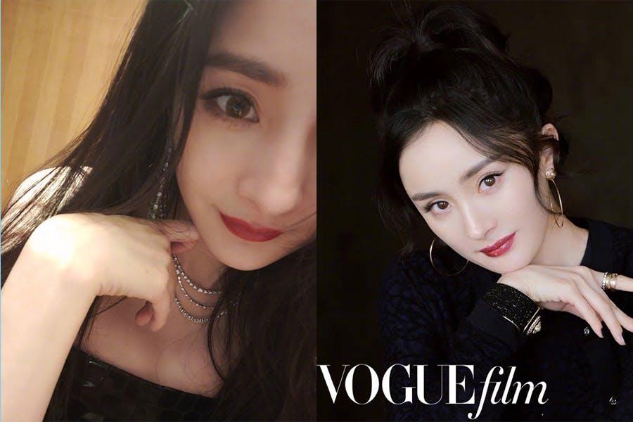《狐狸眼妝》楊冪 VogueFilm時裝電影盛事|美周報
