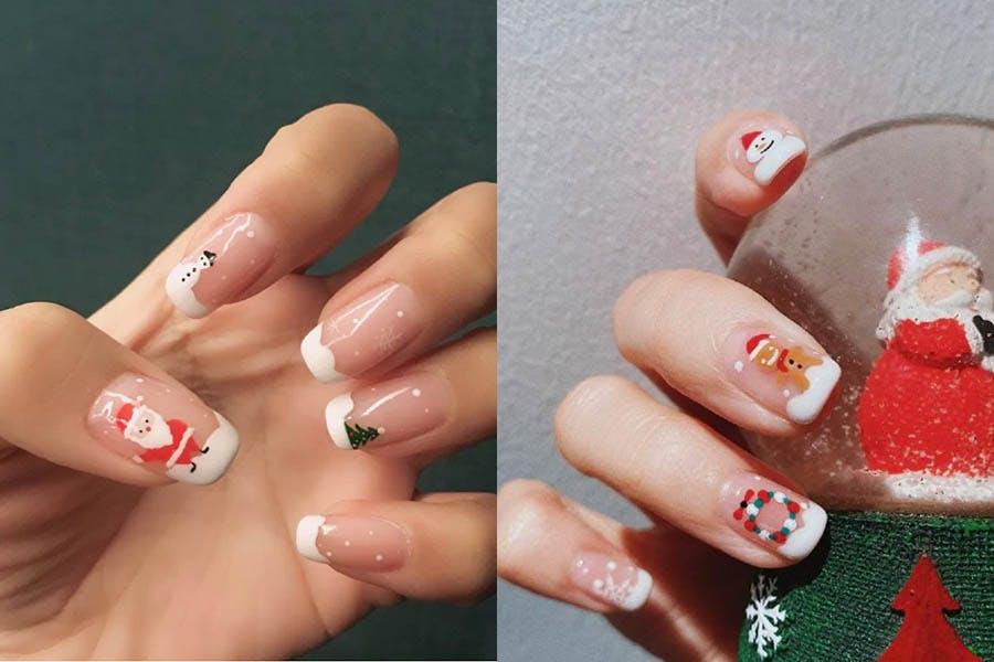 美甲 指甲彩繪 聖誕節 耶誕節|美周報