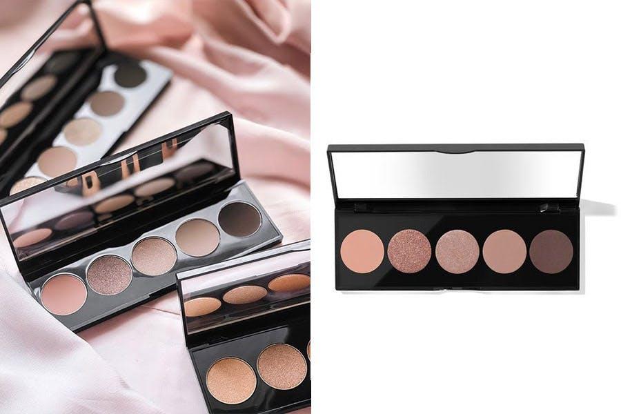 大地色眼影盤推薦 BOBBI BROWN原生裸色5色眼影盤 #Blush Nudes 奶茶裸|美周報