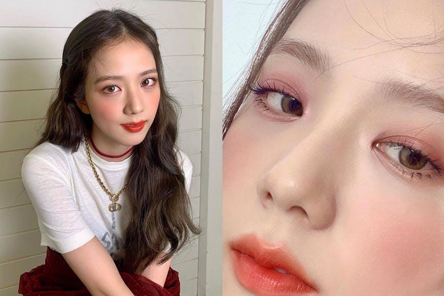 JISOO 眼下臥蠶眼妝|美周報