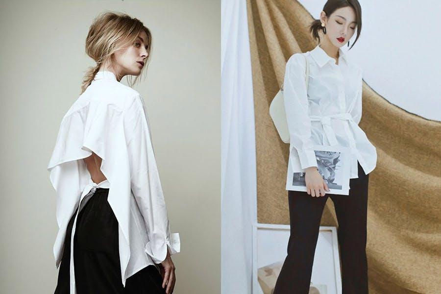 白襯衫穿搭|美周報