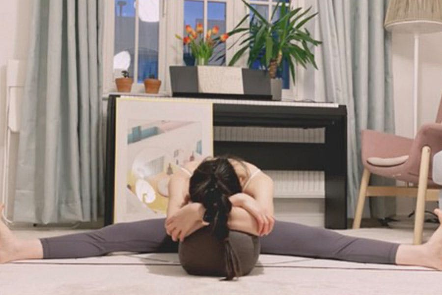 適合生理期的瑜珈體式 坐角式|美周報