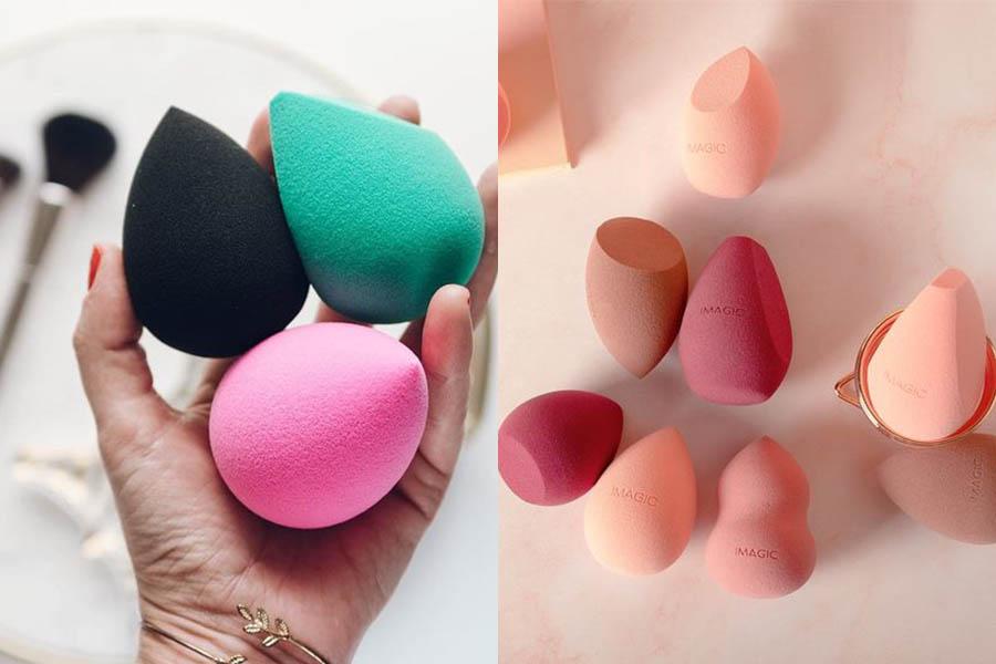 化妝師也愛用《美妝蛋推薦》!上妝不卡粉「奶油肌」底妝必備這一顆!|美妝蛋推薦