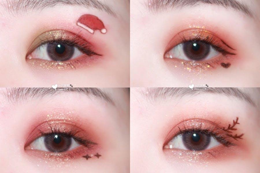 聖誕妝容眼妝推薦|美周報