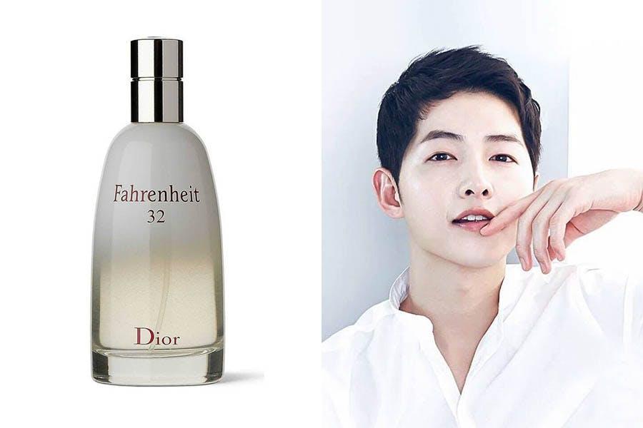 #男星御用香水推薦|宋仲基-Dior Fahrenheit 32 男用淡香水
