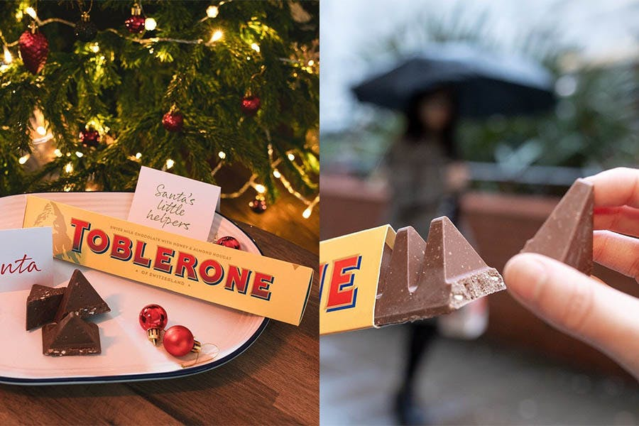 大型巧克力 放大版 TOBLERONE|美周報