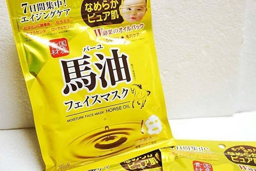 「Don Don Donki」必買日系美妝保健品 日本LOSHI 馬油保濕面膜|美周報