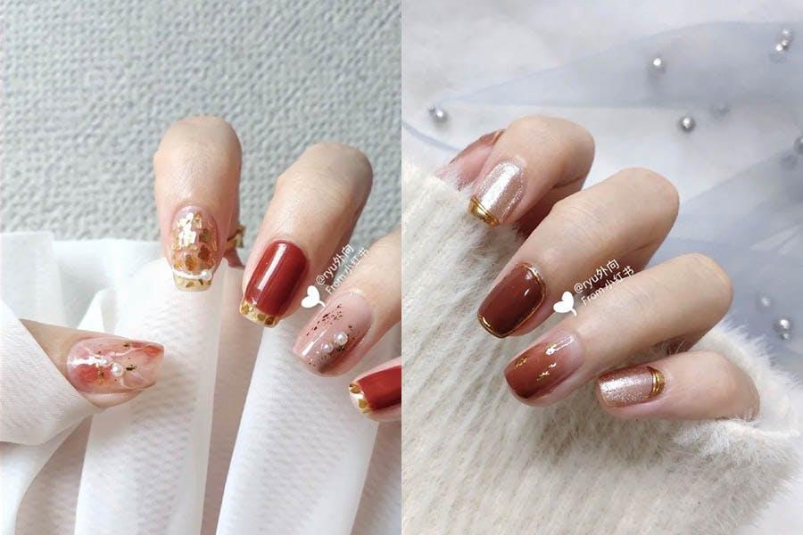 美甲 指甲 指甲彩繪 新年 過年 金銀|美周報