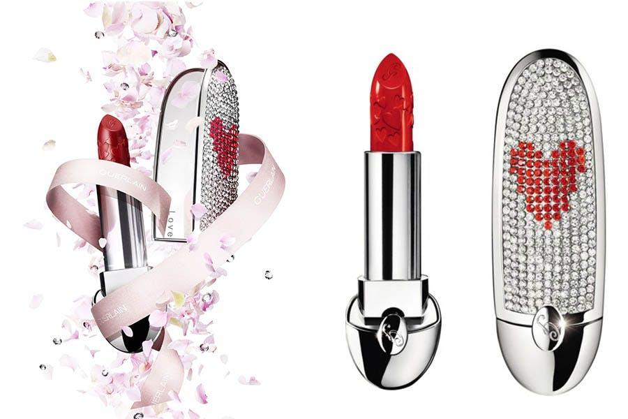 #2021情人節禮物推薦|GUERLAIN嬌蘭 紅寶之吻閃耀動心限量唇膏|美周報