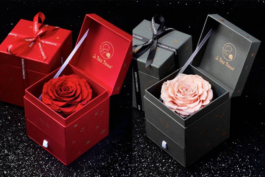 #2021情人節禮物推薦|FLOWER FLOWER花的 X Le Petit Prince 聯名B612 Heart厄瓜多永恆玫瑰花禮|美周報