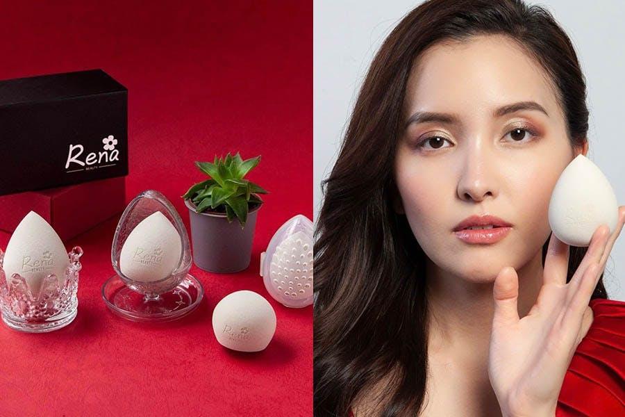 美妝蛋推薦 RenaBeauty超貼妝美妝蛋|美周報