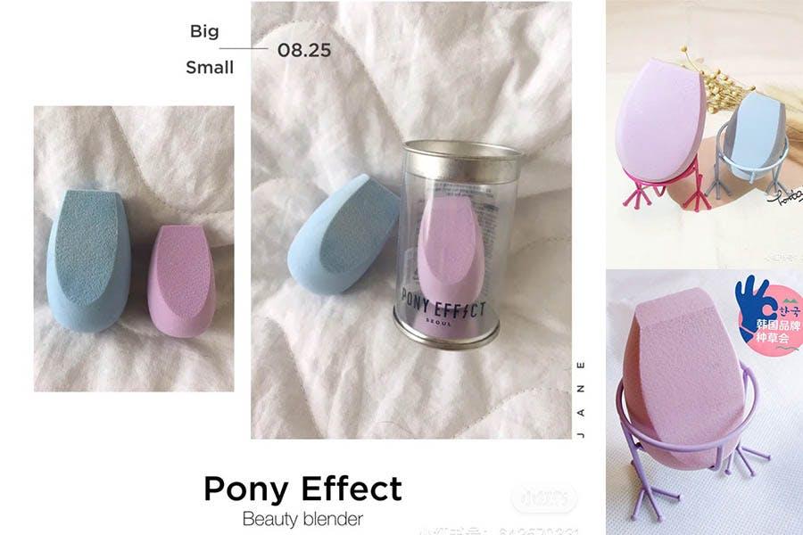 美妝蛋推薦 PONY EFFECT 蛋型粉撲|美周報