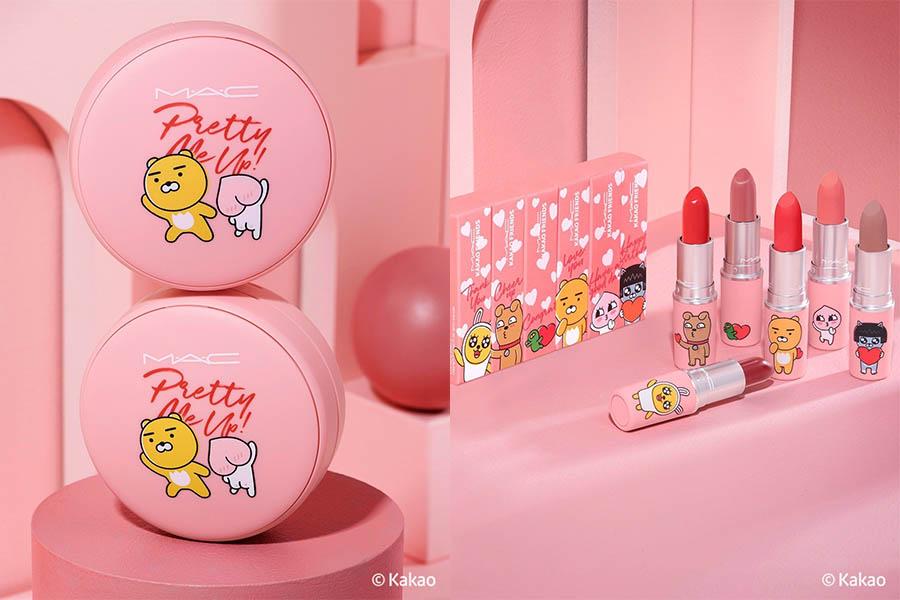 少女心很難守荷包耶!「可愛聯名彩妝」水滴巧克力、KAKAO都在彩妝品耍萌|彩妝推薦