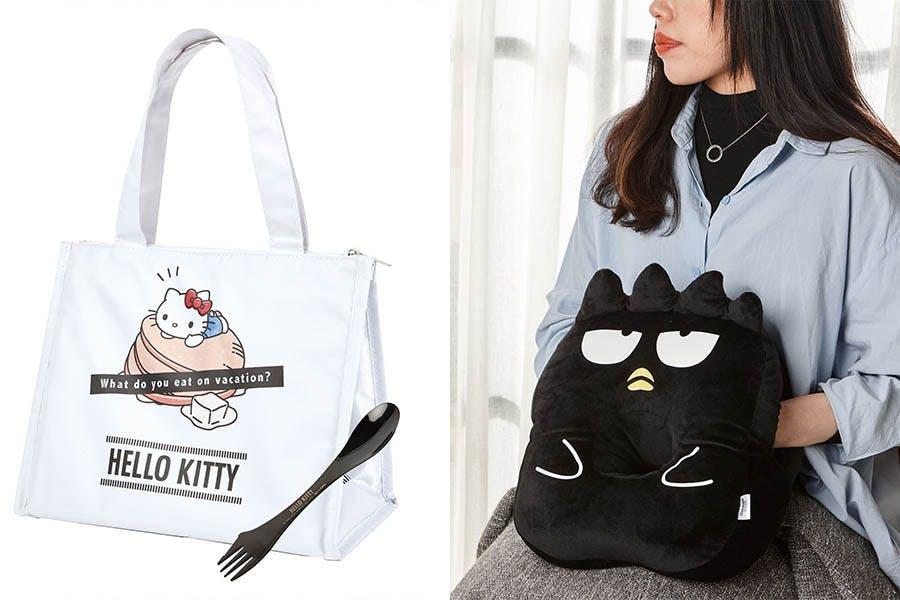 酷企鵝午睡洞洞枕 HELLO KITTY保溫午餐袋組|美周報