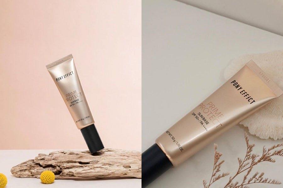 防曬隔離霜 PONY EFFECT 水透光妝前防護乳 SPF50+/PA+++|美周報