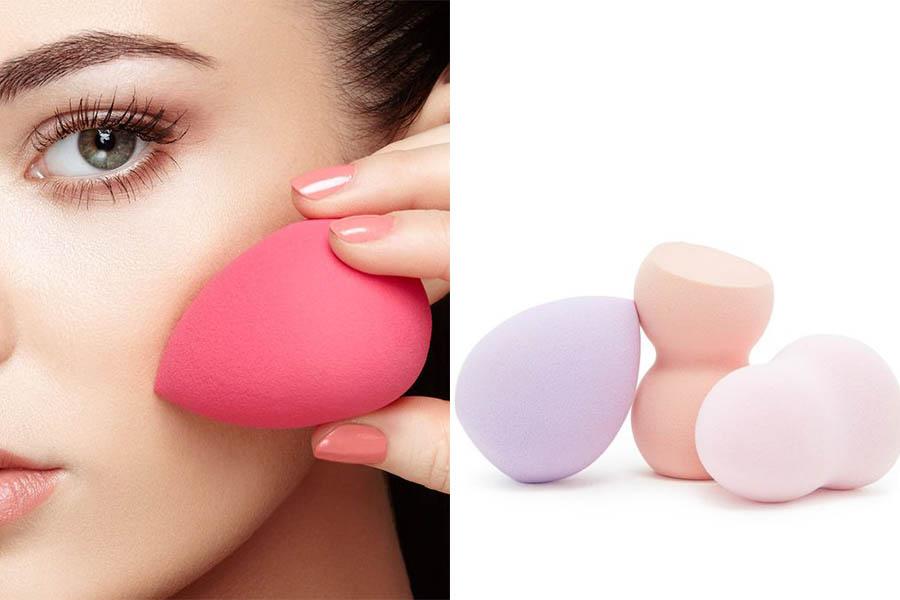懶人服貼底妝來顆美妝蛋就對了~底妝想服貼除了挑選合適粉底液,上妝工具也很重要,你用哪一種?|上妝工具推薦