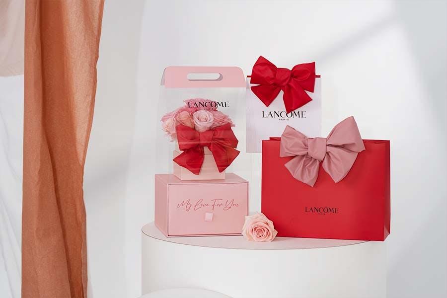 2021母親節限定禮盒包裝推薦 LANCOME蘭蔻蘭蔻幸福蝴蝶結包裝服務|美周報