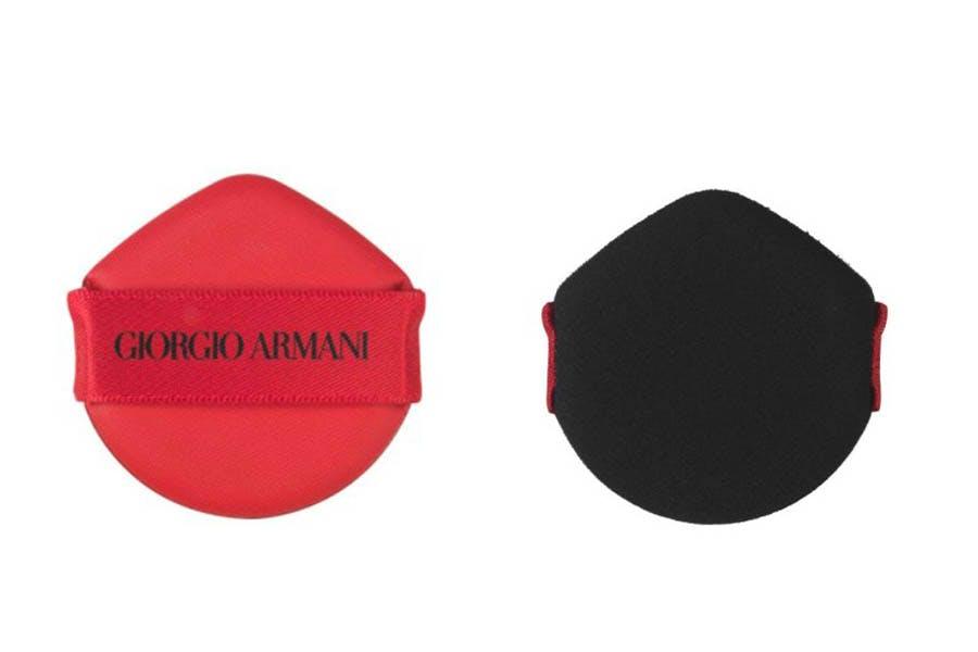 Giorgio Armani訂製絲光精華氣墊粉撲 美周報