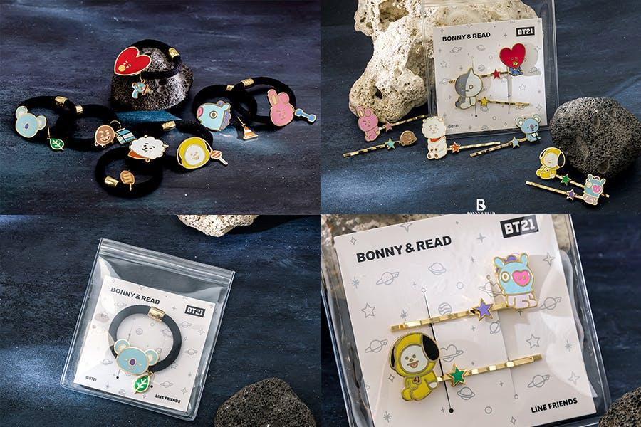 飾品聯名推薦 BONNY & READ X BT21宇宙明星|美周報