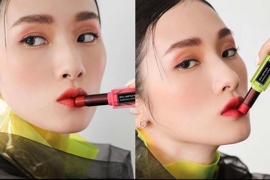 2021限量夏彩推薦 植村秀 X 青木定治 無色限唇膏系列|美周報