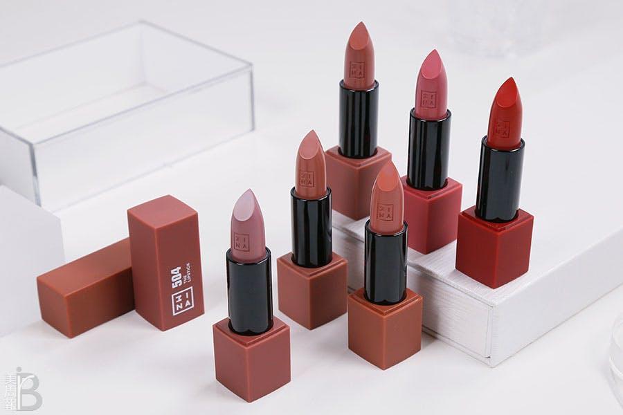 3INA磁久吻色唇膏|美周報