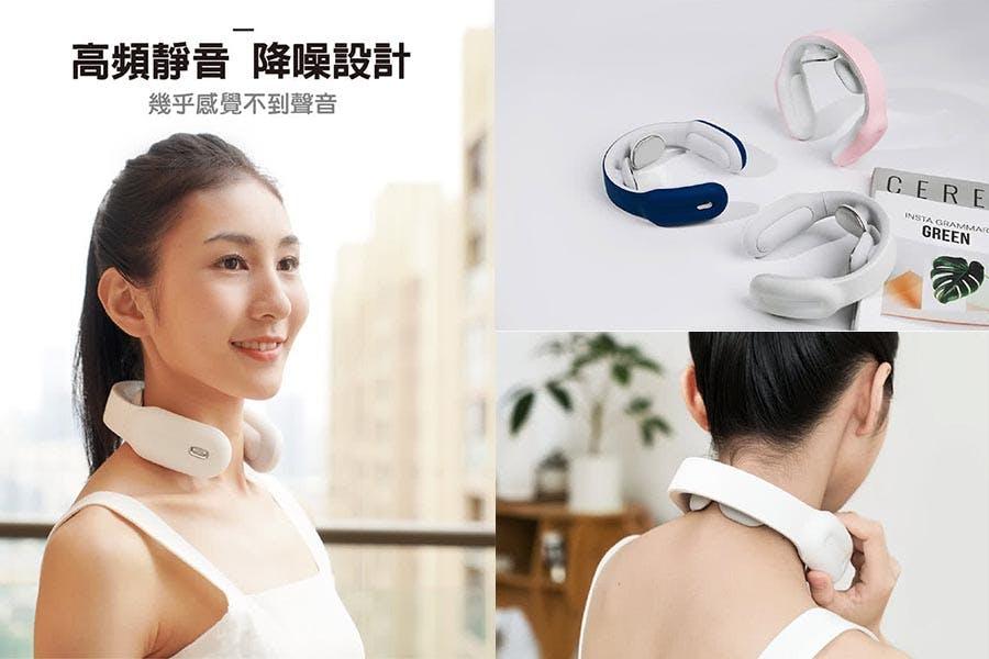 熱銷《肩頸按摩器》推薦|Panatec沛莉緹 智能肩頸按摩儀|美周報