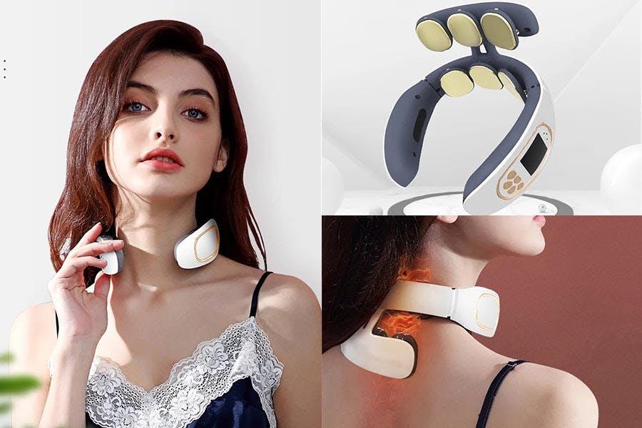 熱銷《肩頸按摩器》推薦|CY呈云 六頭3D肩頸部按摩儀|美周報